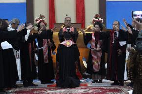 Ibadah HUT ke-26 GKJTP dan Penahbisan PPK Pelaut
